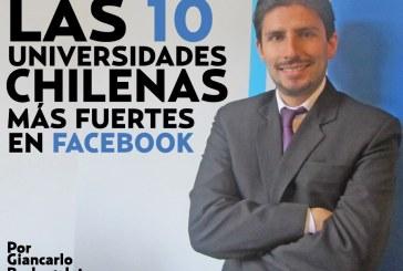 Las 10 universidades chilenas que mejor utilizan las redes sociales.